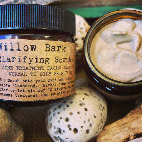 Willow Bark Clarifying Scrub