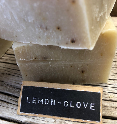Lemon Clove Handcrafted Natural Soap