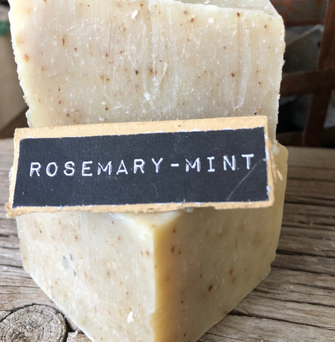Rosemary-Mint Handcrafted Natural Soap