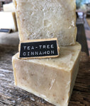 Tea-Tree Cinnamon Handcrafted Natural Soap