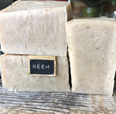 Neem Handcrafted Natural Soap (fragrance-free)