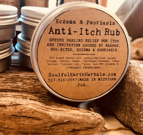 Eczema Anti-Itch Rub