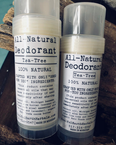 All-Natural Deodorant (Tea-Tree)