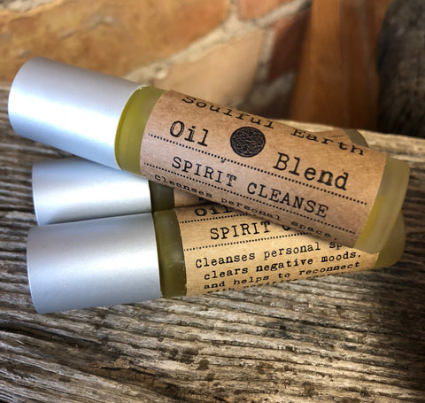 Spirit Cleanse - Soulful Earth Oil Blend