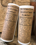 Marshmallow Deodorant Powder