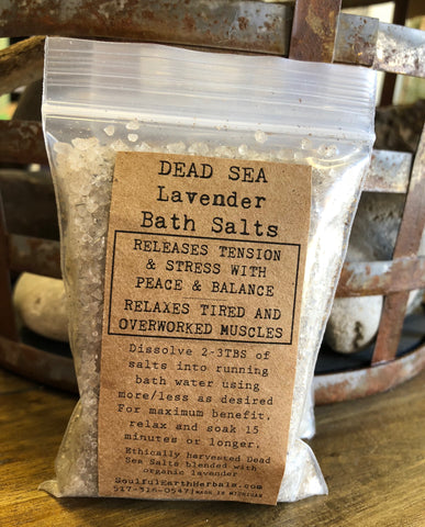 Dead Sea Lavender Salts