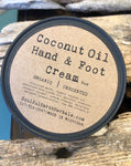 Coconut Oil Hand and Foot Cream