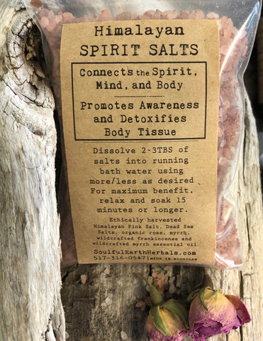 Himalayan Spirit Salts
