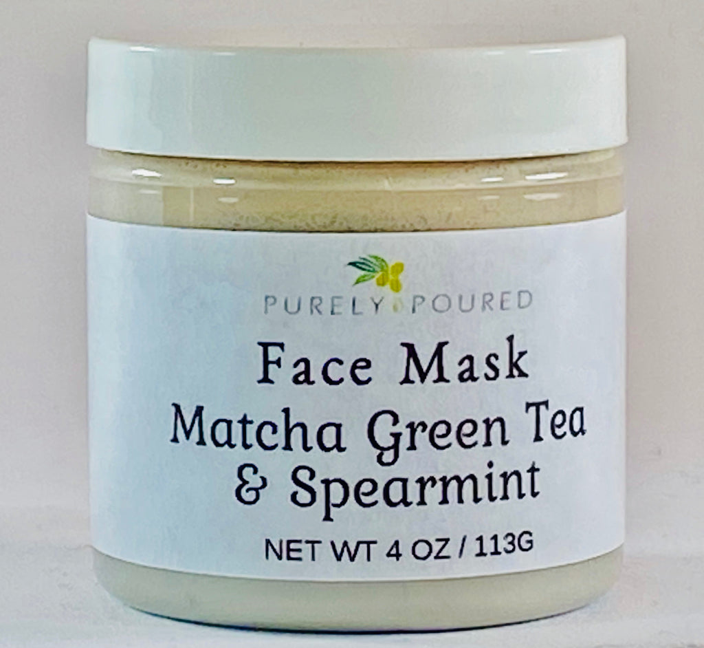 Matcha Green Tea & Spearmint Face Mask