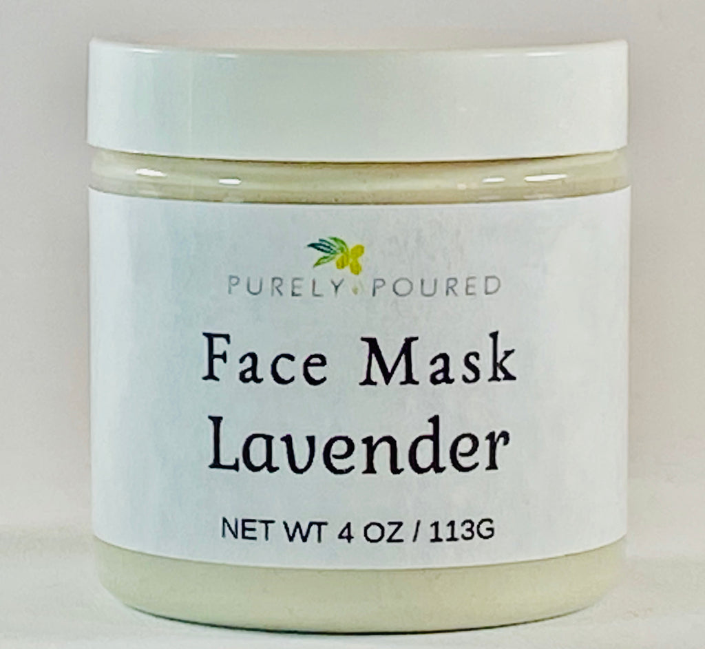 Lavender Kaolin Face Mask