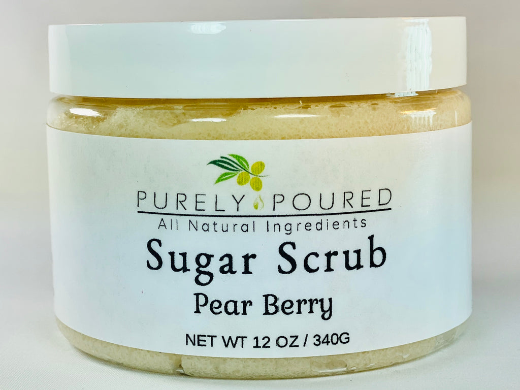 Pear Berry Sugar Scrub