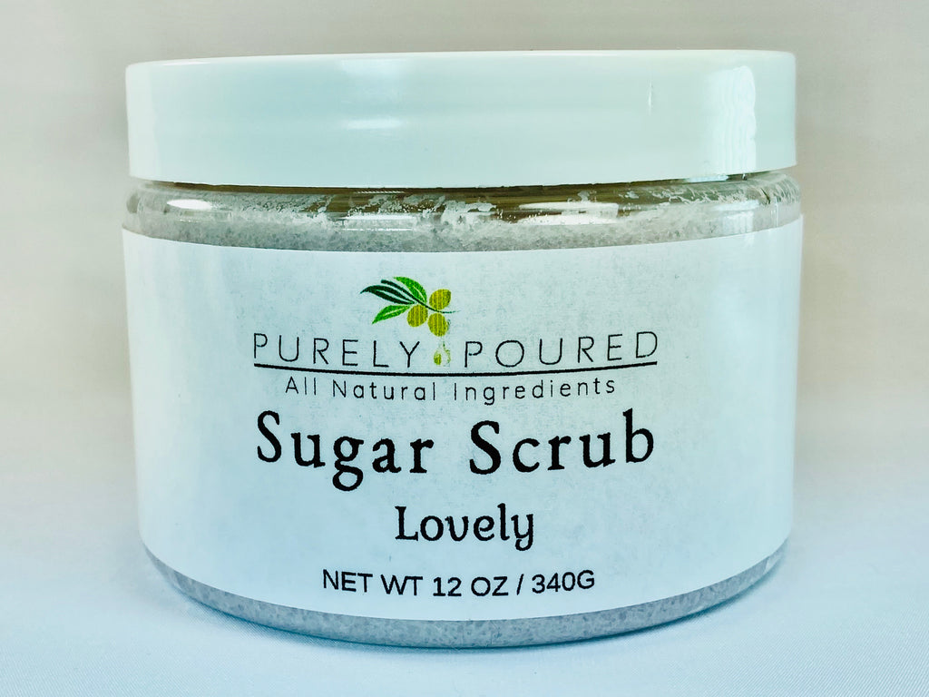 Lovely Sugar Scrub Smells Like Love Spell*