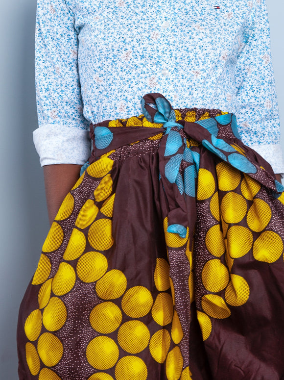 African Prints Skirt - Cecefinery.com