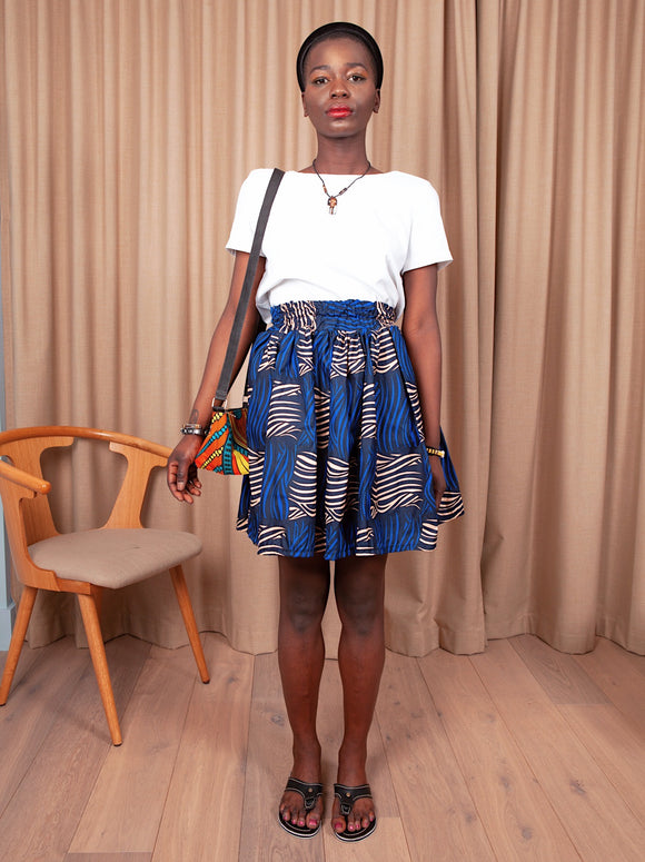 African Prints Skirt 2 - Cecefinery.com