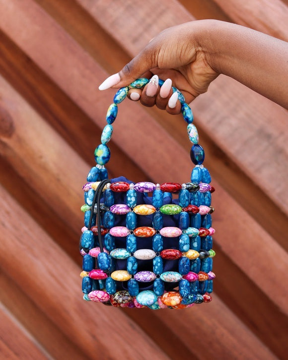 PERLO beads bag - African Fashion -Cecefinery.com- Eco friendly Fashion- African Jewellery