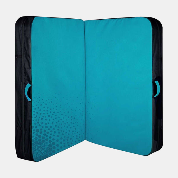 Double Air Bag Crash Pad Turquoise