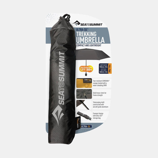 Ultra-Sil Trekking Umbrella Black
