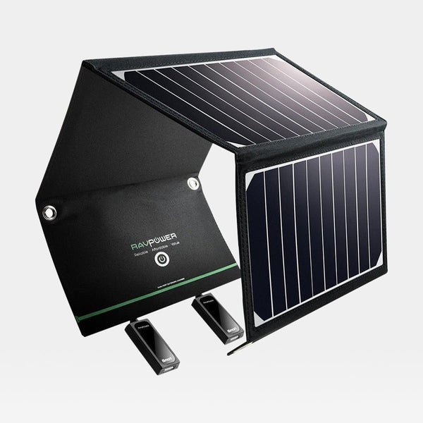RavPower Solar Charger Dual USB 16W