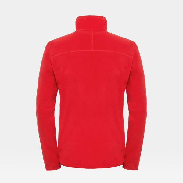 100 Glacier 1/4 Zip Red