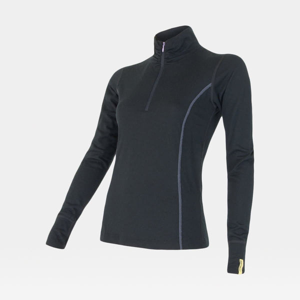 Merino Active LS Tee Zip Women