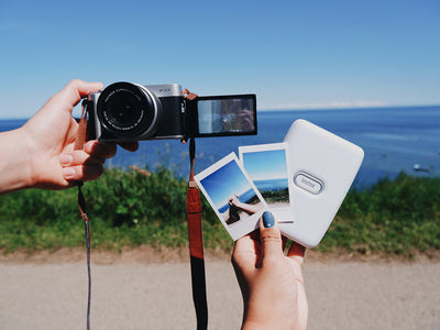 Printing Summer Memories with the instax mini Link and Fujifilm X-A7