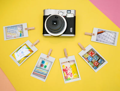 Put the cool in homeschooling with instax