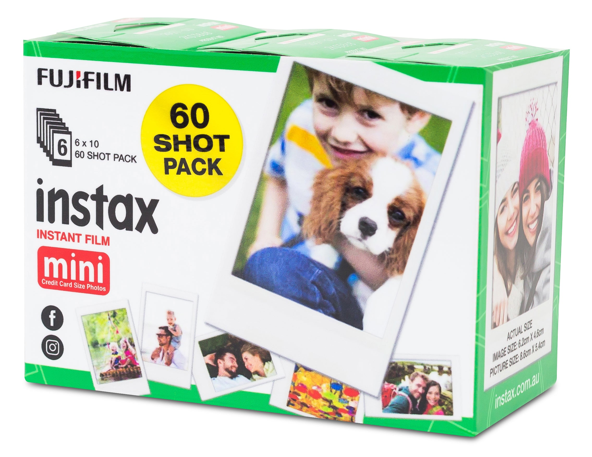 60 pack instax film