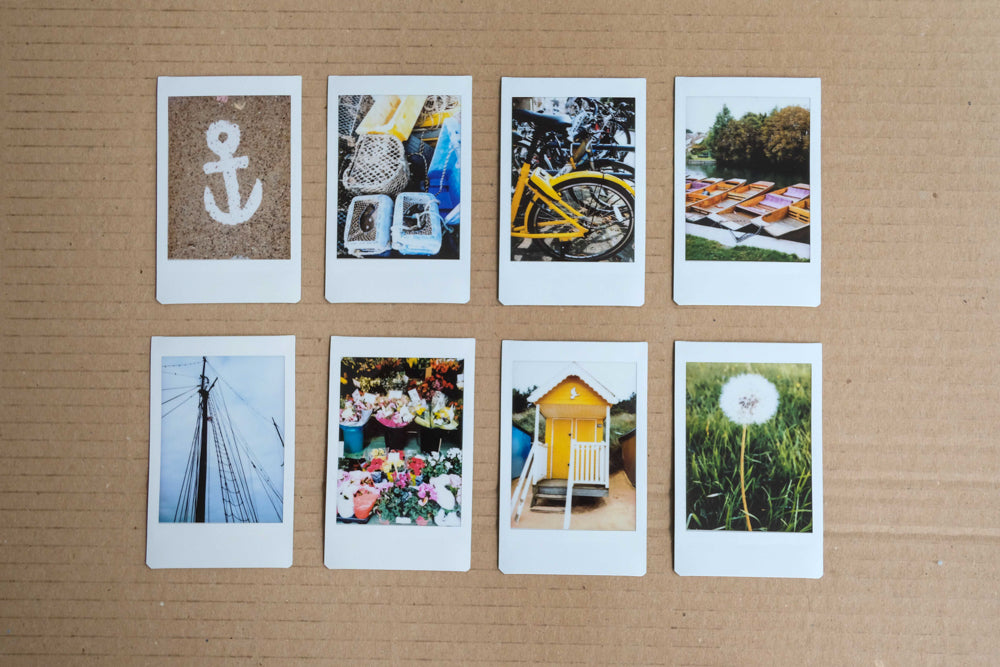 day trip with instax