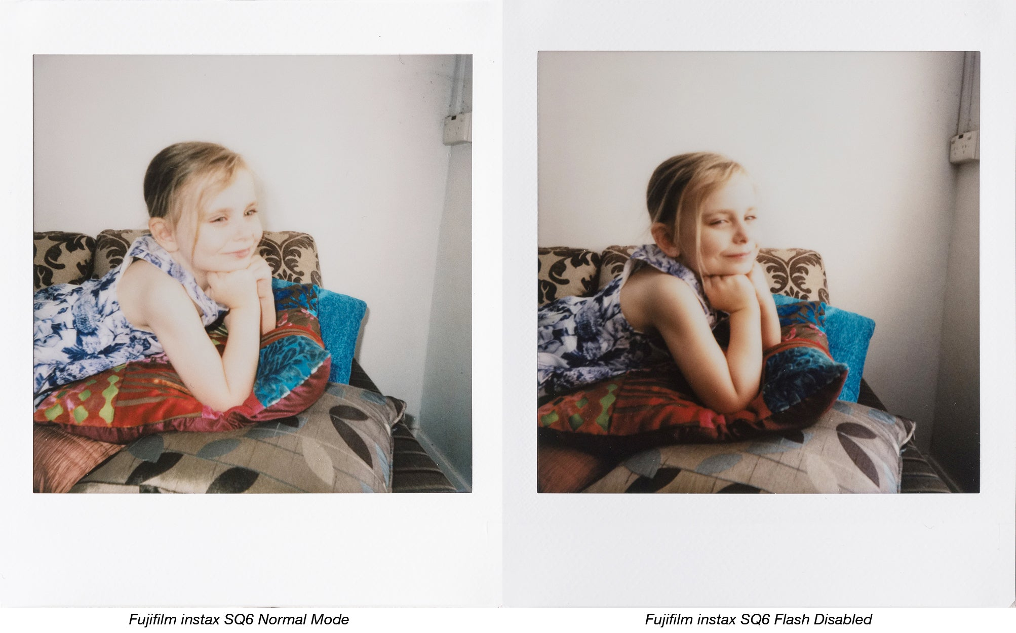 instax natural light portraits