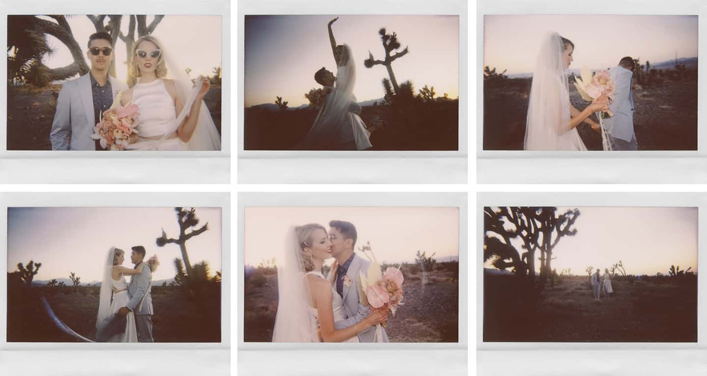 instax wide wedding
