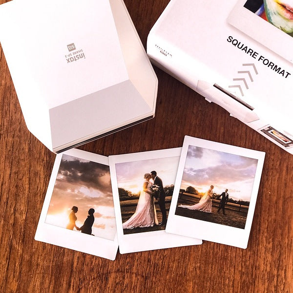 Antony Hands instax wedding prints