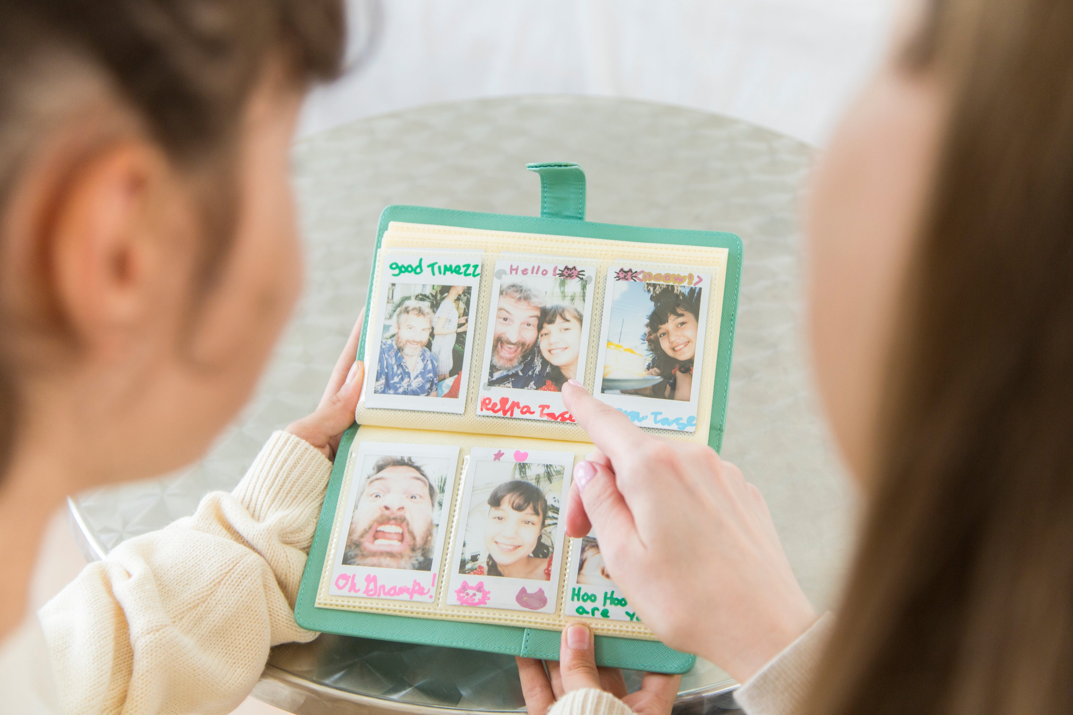instax mini prints photo album
