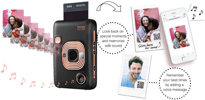 instax mini liplay sound