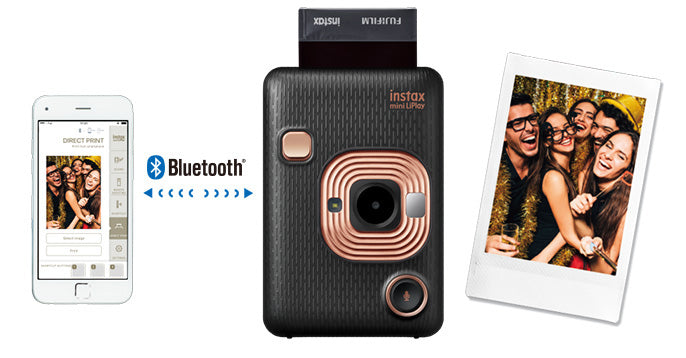 instax mini liplay printer smartphone