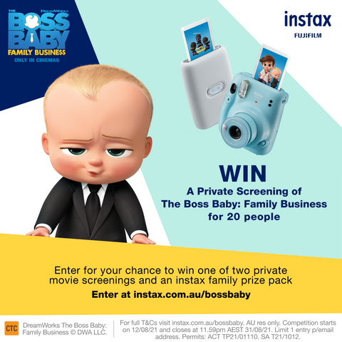 Boss Baby competition