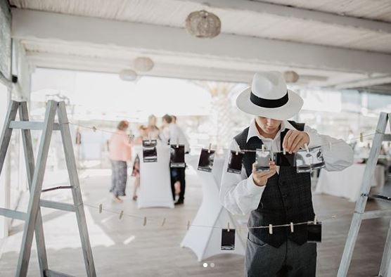 instax wedding