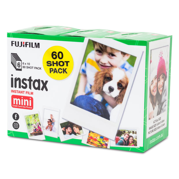 instax mini Film - White (60 pack)