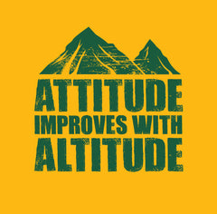 Attitude Improves T-Shirt