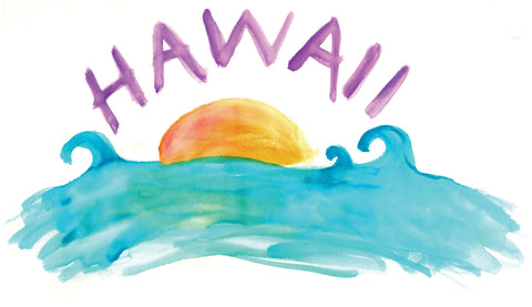 Hawaii Watercolor