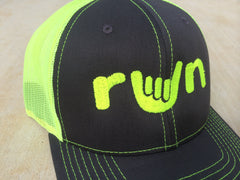Run Shaka Hat - Embroidered Baseball Cap