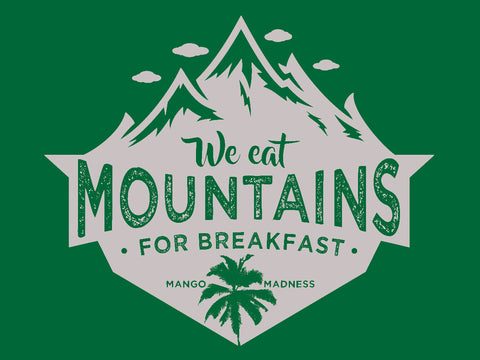 Eat Mountains Trucker Hat