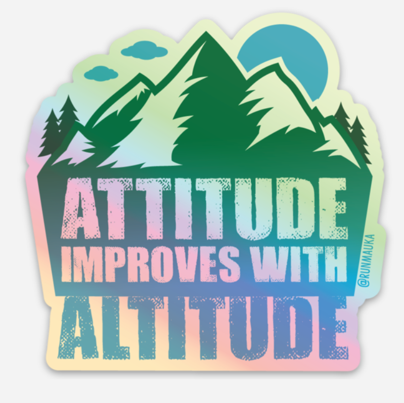 Attitude/Altitude (Sticker)