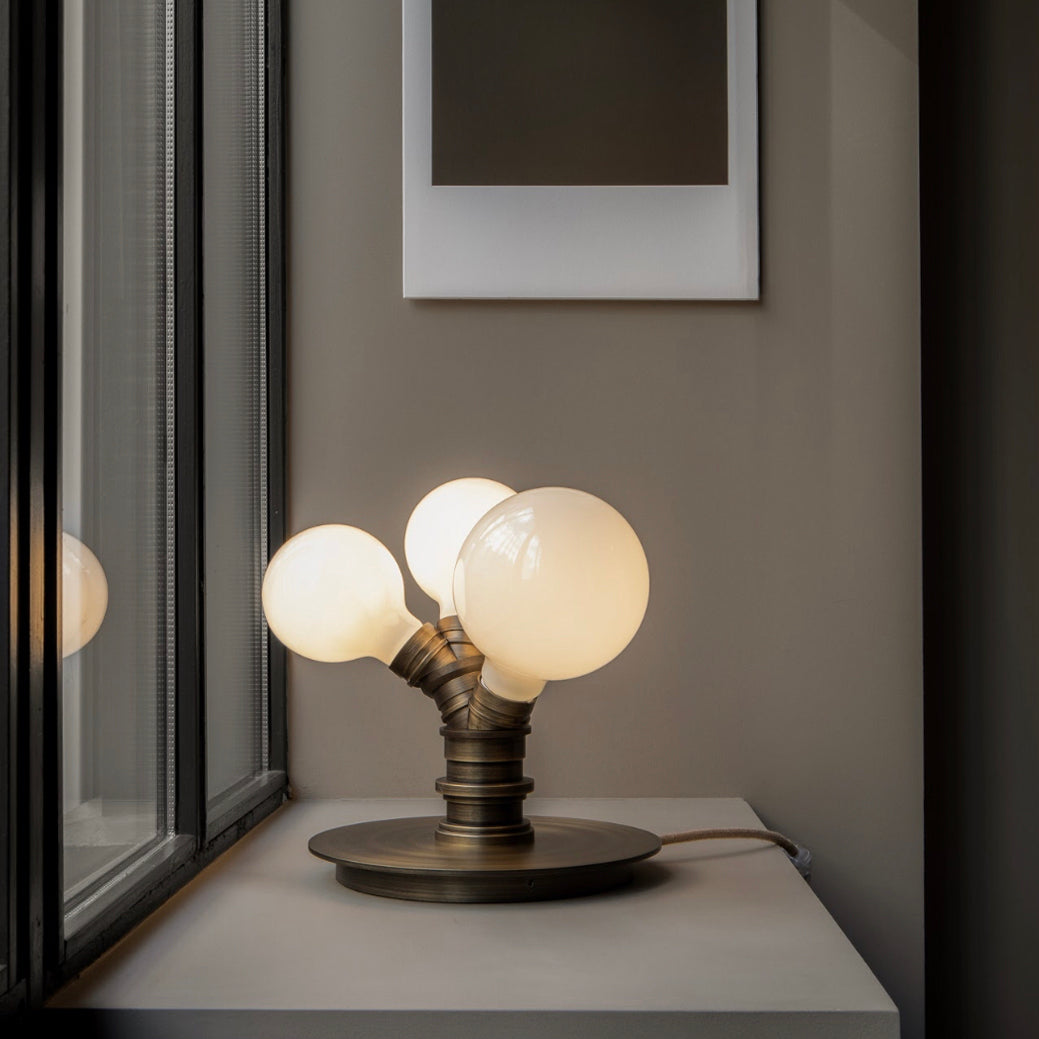 Clusters Table Lamp - Three Bulbs