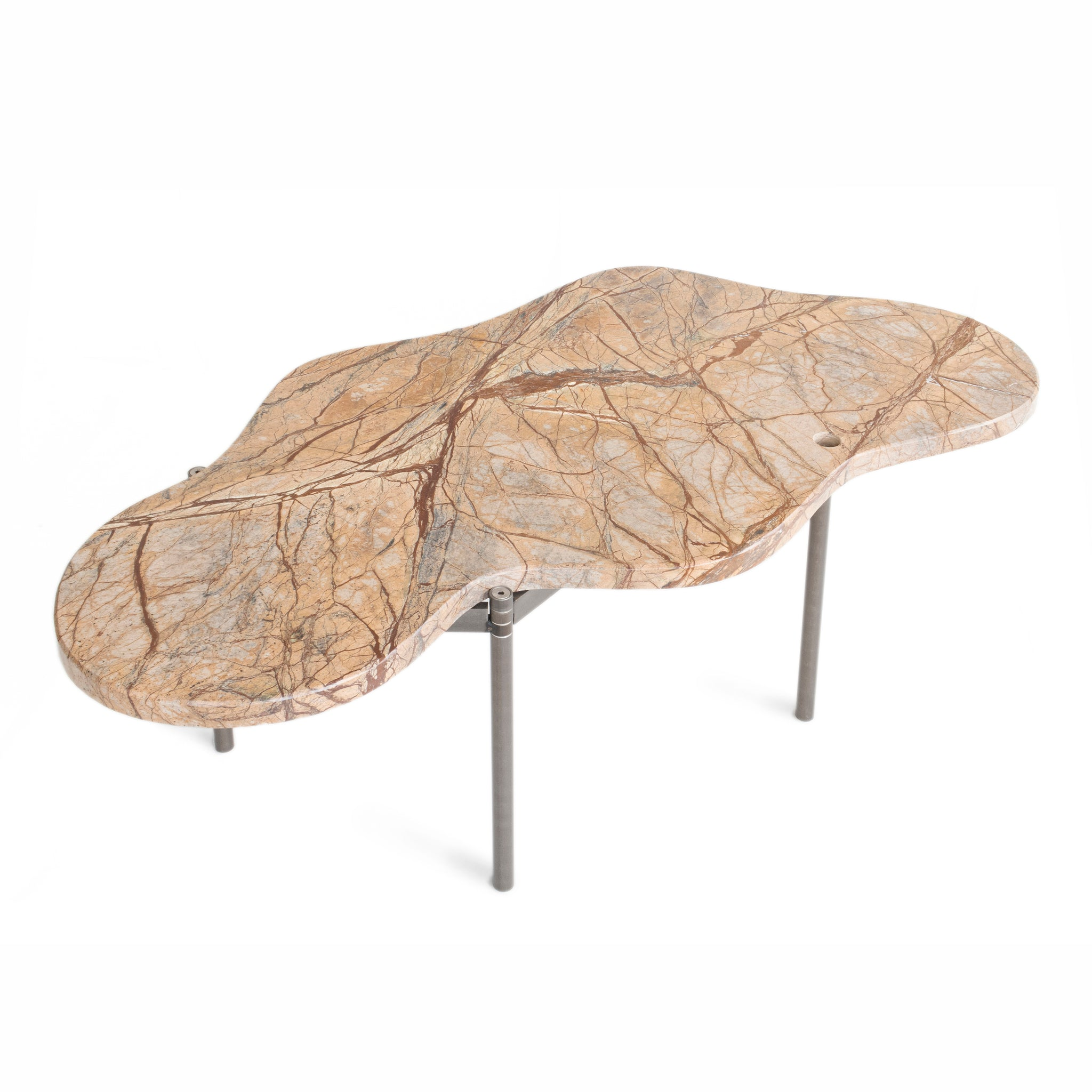 Segment Coffee Table – Brown Rainforest