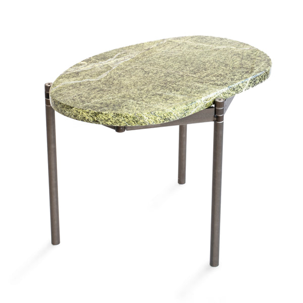 Segments Side Table – Green Rainforest