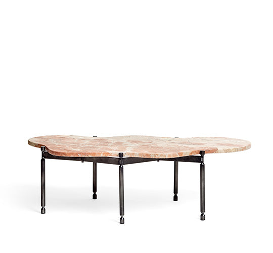 Segments Coffee Table – Breccia Aurora