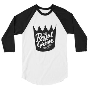 Royal Grove 3/4 Sleeve Raglan Shirt