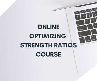 Online Optimizing Strength Ratios Course