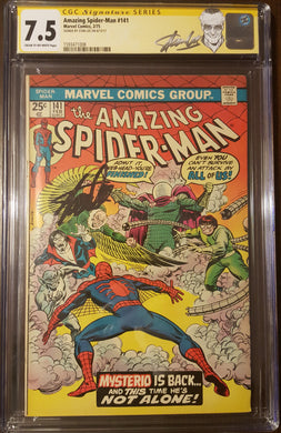 Amazing Spider-Man (1963 1st Series) #141 Signed by STAN LEE