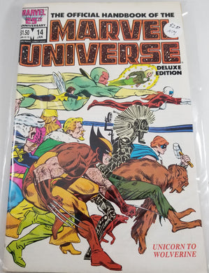 Official Handbook of the Marvel Universe Deluxe Edition (1985-1988 Marvel) #14
